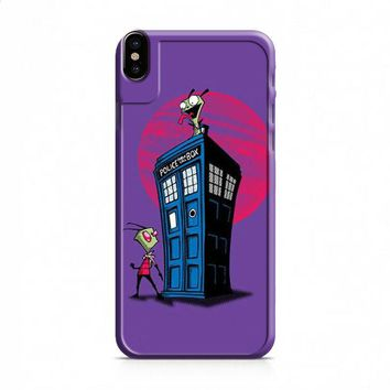Doctor Who Invader Zim iPhone X case