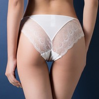 Sexy Lace Panties ,Low Waist Cotton Exotic Lingerie Intimates Briefs
