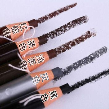 12 Pcs Waterproof Eyebrow Pencil For Eyebrow Permanent Makeup Tattoo Stereotypes Pen Eyebrow Cosmetic Art