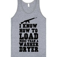 i know how to load more than a washer and dryer | | SKREENED