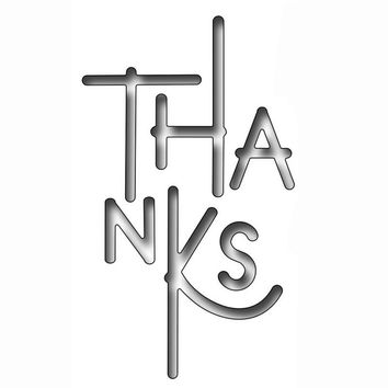 Thanksgiving THANKS Words Metal Cutting Dies Stencil For DIY Scrapbooking Photo Album Embossing Paper Cards Crafts Diecuts