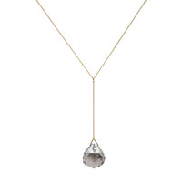 Faceted Drop Pendant