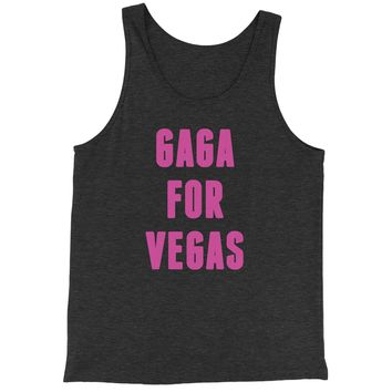 Gaga For Las Vegas Jersey Tank Top for Men