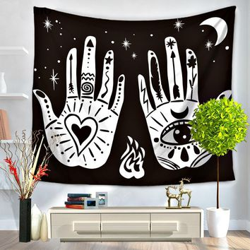Magical Night Boho Tapestry