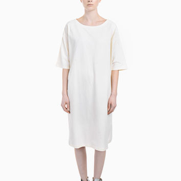 Piqué Sweatshirt Dress