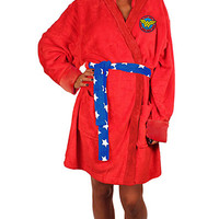Wonder Woman Robe - Red,