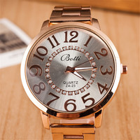 Comfortable Vintage Fashion Quartz Classic Watch Round Ladies Women Men wristwatch On Sales = 4661806404