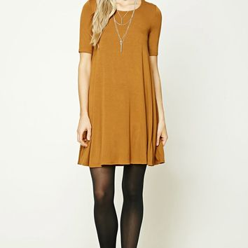French Terry Swing Dress