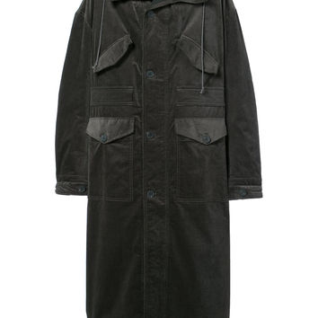 Haider Ackermann Oversized Long Hooded Coat - Farfetch