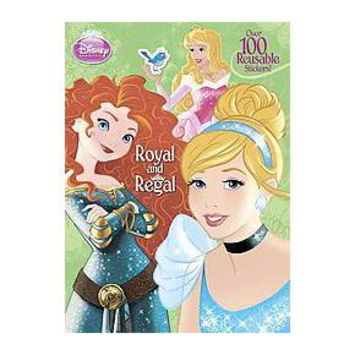 Royal and Regal Deluxe Reusable Sticker Book (Paperback)