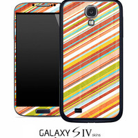 Vintage Slanted Striped Skin for the Samsung Galaxy S4, S3, S2, Galaxy Note 1 or 2