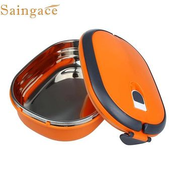 Zero Single Stainless Steel Insulation Lunch Bento Box Food Container Bag