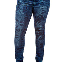 Women Jeans Junior Plus Size Retro Skinny Jean