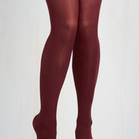 Layer It On Tights in Marsala