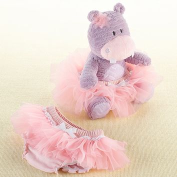 "Baby Aspen ""Lady Lulu and Baby's Tutu"" Plush Plus & Bloomer for Baby"