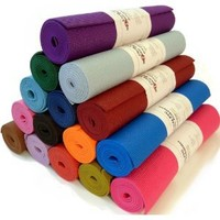 "Yoga Monster Mat 1/4""x72"" Extra Thick 17 Colors SGS Approved Non-Toxic PER No Phthalates or Latex by Bean ProductsTM - Purple"