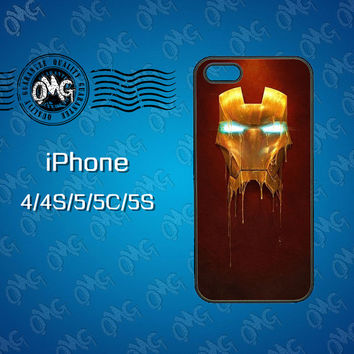 Iron Man , iPhone 5S case , iPhone 5C case , iPhone 5 case , iPhone 4S case , iPhone 4 case