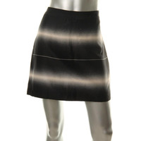Marc by Marc Jacobs Womens Lida Silk Blend Striped Pencil Skirt
