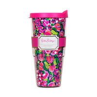 Insulated Tumbler With Lid - Lilly Pulitzer