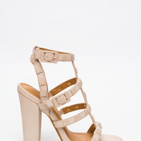 Square Up Strappy Heels GoJane.com