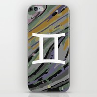 Gemini iPhone & iPod Skin by KJ Designs
