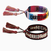 Set of Christian Dior J'adior cotton bracelets - Dior