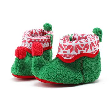 Tiny Baby Shoes | Christmas Elf Baby