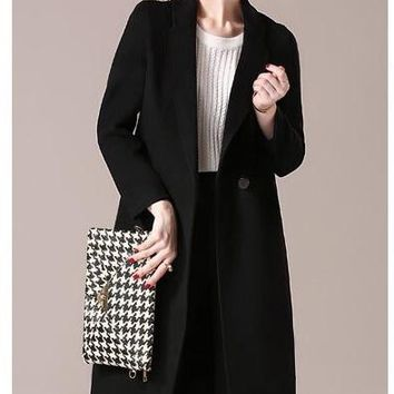 Classic Double Faced Wool Coat
