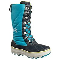 NEW Under Armour Clackamas 200 Waterproof Insulated Pac Boots for Ladies - Pirate Blue