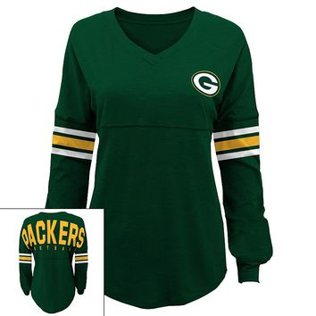 Green Bay Packers Slub Jersey Tunic - Juniors