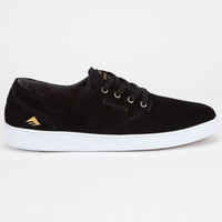 Emerica The Romero Laced Mens Shoes Black/White  In Sizes
