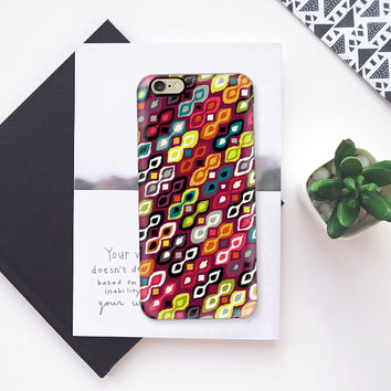 kiss me ikat iPhone 6s case by Sharon Turner | Casetify