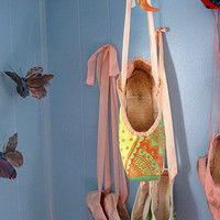 Custom Pointe Shoes, Hand Dyed and Fully Functional