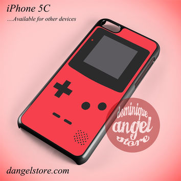 Red Pink Gameboy Phone case for iPhone 5C and another iPhone devices