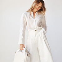 White leather handbag - View all - New in - Uterqüe United Kingdom