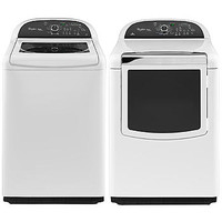 Whirlpool 4.8 cu. ft. Top-Load Washer and 7.6 cu. ft. Dryer Bundle