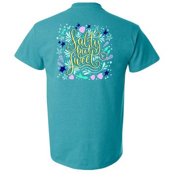Salty But Sweet Southern Charm Collection on a Antique Jade Shirt