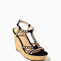 Jenna Studded Wedges | Shoes | charming charlie