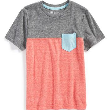 Boy's Tucker + Tate Colorblock Pocket T-Shirt,