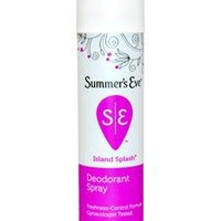 Summers Eve feminine deodorant spray, Island splash - 2 oz