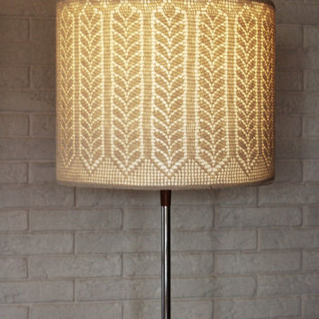 Crochet Lamp Sennit Ornament by Lumidea on Etsy