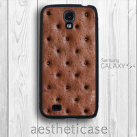 Creative Galaxy s4 Case Ice Cream Sandwich Galaxy SIV Funny Rubber Case iPhone 5 Back Cover --000010