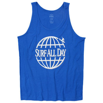 Altru Apparel Surf All Day Globe Tank Top
