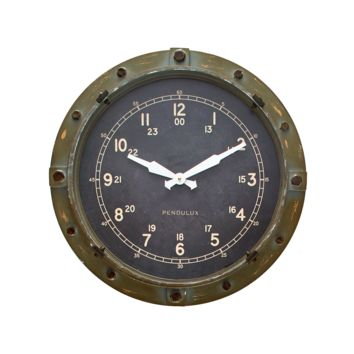 Cargo Metal Wall Clock -- 18-in