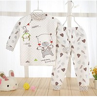 Newborn Baby Clothing Set Brand Baby Boy/Girl Clothes 100% Cotton Cartoon Underwear,Free Shipping NT046
