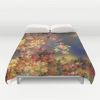A Beautiful Summer Afternoon Duvet Cover by Klara Acel
