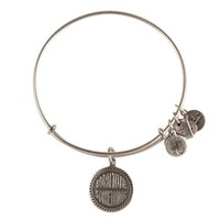 Alex and Ani Born To Be Something Charm Bangle