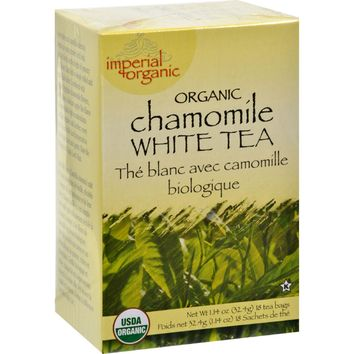 Uncle Lee's Organic Chamomile White Tea - 18 Tea Bags
