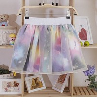 Fancy Galaxy with White Chiffon Skirt [827]