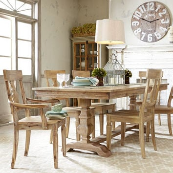 Bradding Natural Stonewash Dining Table